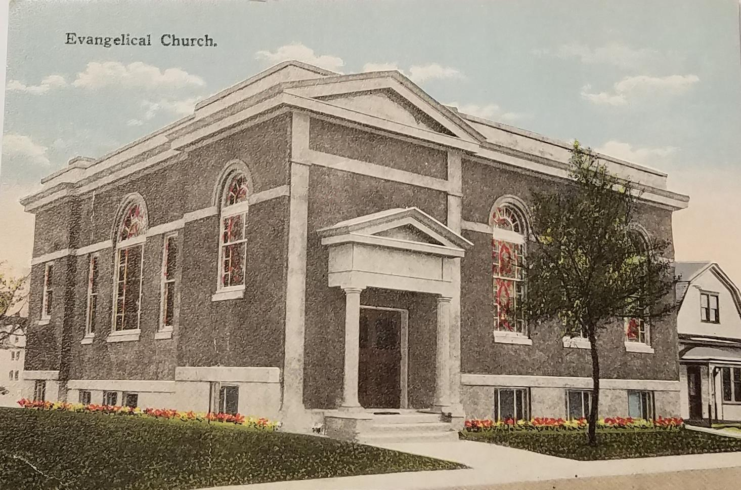 Second Grace postcard